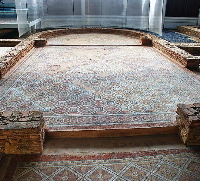 Villa romana de La Olmeda en Palencia