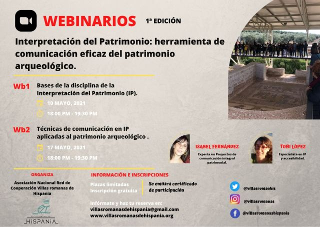 I Edición Webinarios Villas Romanas de Hispania